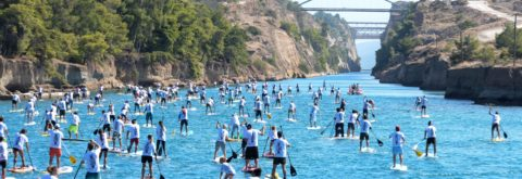 """world's straightest SUP race"""