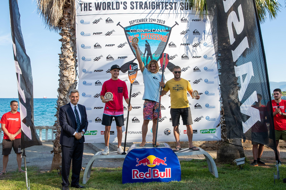 "Podium for Men 14'0"" Category"